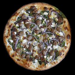Mediterranean Combo Pizza